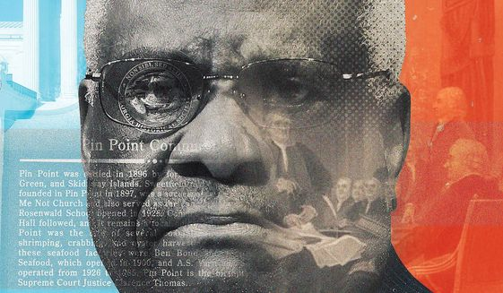 Clarence Thomas illustration by Linas Garsys