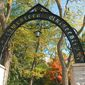 """The Arch"" at the main entrance to Northwestern University's Evanston, Illinois campus (Wikimedia Commons)"