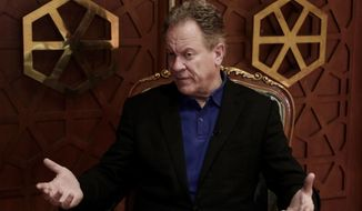 FILE - In this March 21, 2019 file photo, David Beasley, executive director of the United Nations World Food Program (WFP), speaks during an interview with The Associated Press, in Cairo, Egypt. In the wake of an internal survey that detailed multiple allegations of rape and sexual harassment of its female staffers, Beasley vowed to go after abusers. Beasley said over the past year he has been increasing the number of investigators at the agency to 22 to look into allegations of misconduct, including a number who specialize in dealing with victims of sexual violence. (AP Photo/Nariman El-Mofty, File)