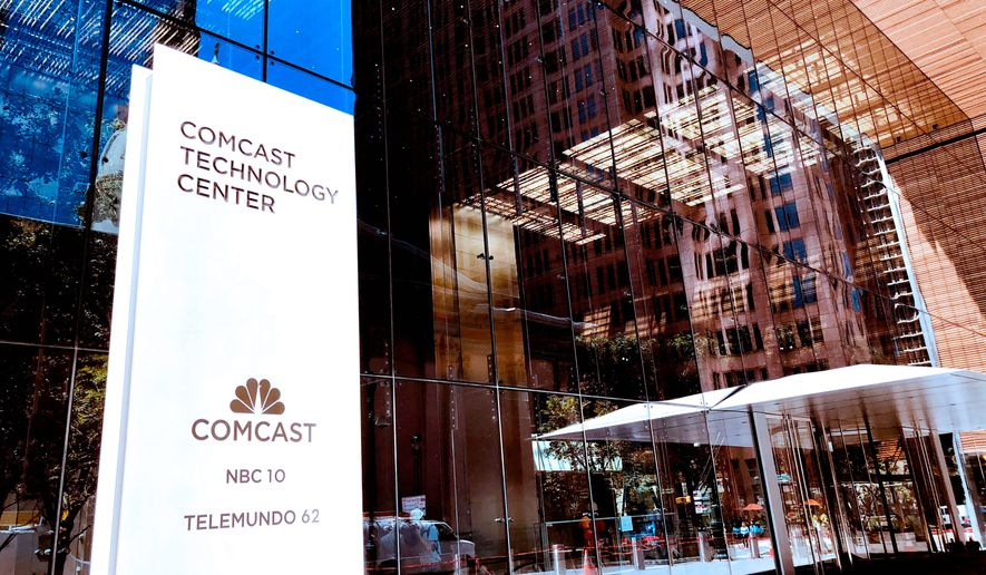 Comcast Corporation will host a conference call with the financial community to discuss financial results for the first quarter on Thursday, Oct. 25 at 8 a.m. Eastern Time (ET). Comcast will issue a press release reporting its results earlier that morning. (Jeff Fusco/Comcast via AP Images)