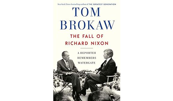 'The Fall of Richard Nixon' (book jacket)