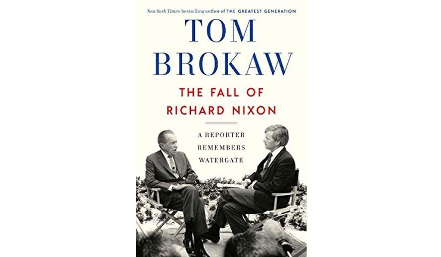 'The Fall of Richard Nixon' (book jacket)