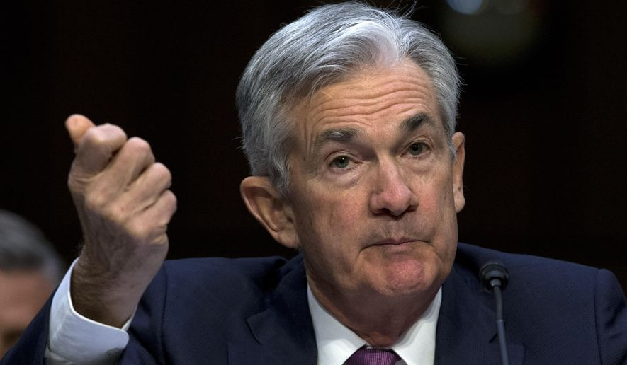 Federal Reserve Board Chair Jerome Powell testifies on the economic outlook, on Capitol Hill in Washington, Wednesday, Nov. 13, 2019. (AP Photo/Jose Luis Magana)