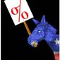 Illustration on Democrats and taxes by Alexander Hunter/The Washington Times