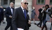 Roger Stone leaves federal court Washington, Friday, Nov. 15, 2019. Stone, longtime friend of President Donald Trump, has been found guilty at his trial in federal court in Washington. (AP Photo/Julio Cortez)