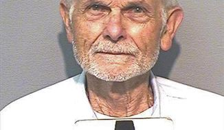 """This March 23, 2018, photo, provided by the California Department of Corrections and Rehabilitation shows inmate Bruce Davis. A third consecutive California governor is blocking parole for the former follower of late cult leader Charles Manson, 50 years after the hippy """"family"""" terrorized Southern California. Gov. Gavin Newsom on Friday, Nov. 15, 2019, reversed the sixth parole recommendation for Davis, now 77-years old, for the 1969 slayings of musician Gary Hinman and stuntman Donald """"Shorty"""" Shea. (California Department of Corrections and Rehabilitation via AP)"""