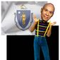 Illustration of Deval Patrick as Steve Urkel by Alexander Hunter/The Washington Times