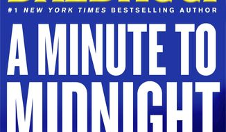 """This cover image released by Grand Central Publishing shows """"A Minute to Midnight,"""" by David Baldacci. (Grand Central Publishing via AP)"""
