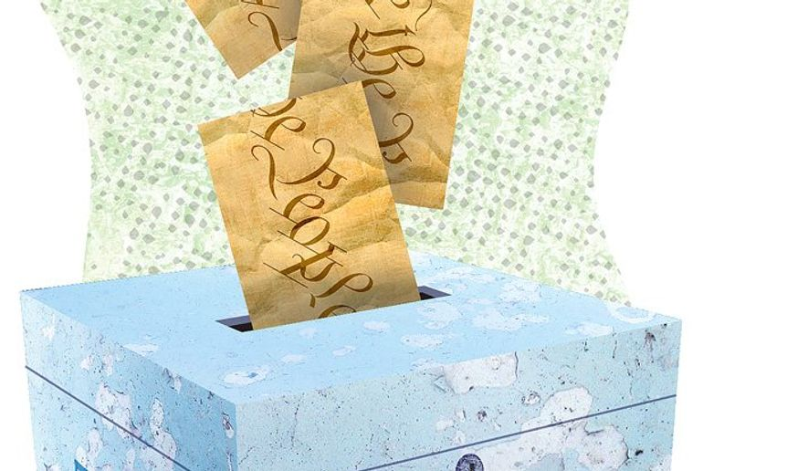 The People Prevail at the Ballot Box Illustration by Greg Groesch/The Washington Times