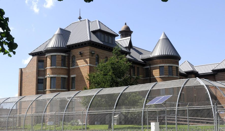 """FILE - This June 16, 2010 file photo shows the exterior of the Civil Commitment Unit for Sexual Offenders (CCUSO) unit, that is part of the Cherokee Mental Health Institute in Cherokee, Iowa. A termination letter obtained by The Associated Press alleges that Shannon Sanders committed """"boundary violations"""" with a patient in her care. Sanders is the treatment director at the Civil Commitment Unit for Sex Offenders in Cherokee. (AP Photo/Steve Pope, File)"""