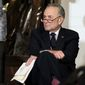 """Senate Minority Leader Charles E. Schumer said Wednesday that the Senate made """"some progress"""" in recent days toward completing the appropriations process. The Senate did not hold an anticipated vote on a stopgap spending resolution. (Associated Press)"""