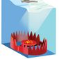 Illustration on China Pacific Ocean policy by Linas Garsys/The Washington Times