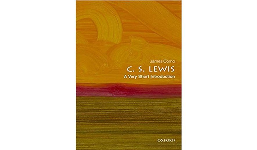 'C.S. Lewis: A Very Short Introduction' (book jacket)