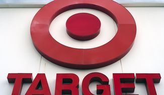 FILE - This May 3, 2017, file photo shows a Target store in Omaha, Neb. Target Corp. (TGT) on Wednesday, Nov. 20, 2019, reported fiscal third-quarter profit of $714 million. (AP Photo/Nati Harnik, File)