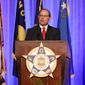 The nomination of Fraternal Order of Police National President Chuck Canterbury to be head of the ATF was supposed to be voted on in September. (Associated Press)
