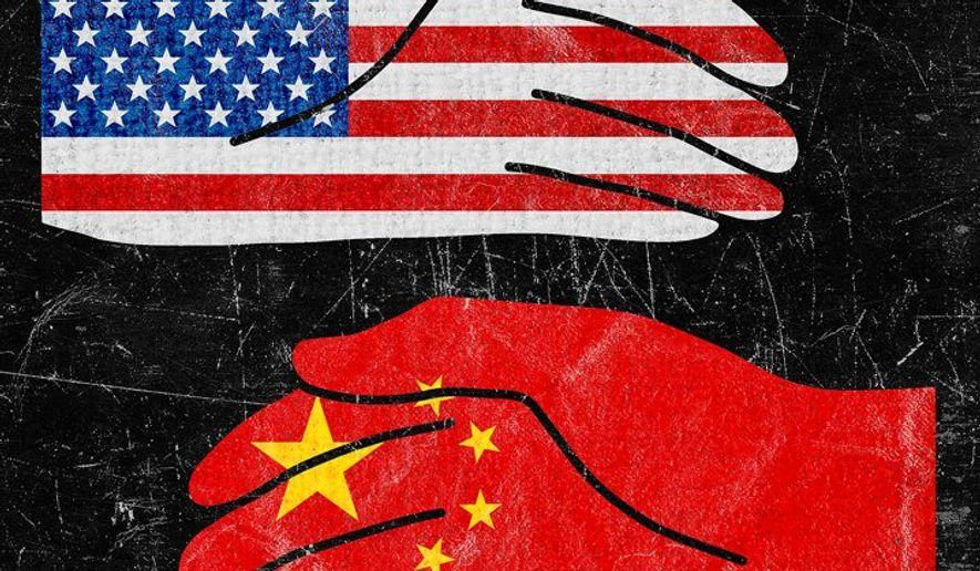 China-USA Strategy Illustration by Greg Groesch/The Washington Times