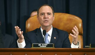 """If the Senate wants to call me as a witness, then they pretty much made the decision not to take this process seriously,"" said Rep. Adam B. Schiff, California Democrat and chairman of the House Permanent Select Committee on Intelligence. (Associated Press/File)"