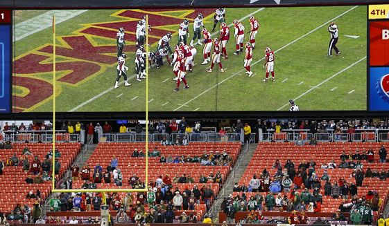 Washington Football Team Says No Fans Allowed To Attend Home Games To Start 2020 Season Washington Times