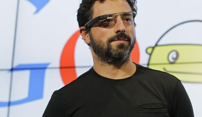 6. Sergey Brin, Google, $42.7 billion                                                                                                              Google co-founder Sergey Brin stands on stage during a bill signing by California Gov. Edmund G. Brown Jr., for driverless cars at Google headquarters in Mountain View, Calif., Tuesday, Sept. 25, 2012.  The legislation will open the way for driverless cars in the state. Google, which has been developing autonomous car technology and lobbying for the legislation has a fleet of driverless cars that has logged more than 300,000 miles (482,780 kilometers) of self-driving on California roads. (AP Photo/Eric Risberg)
