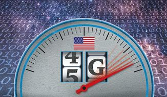 The Race to 5G Illustration by Greg Groesch/The Washington Times