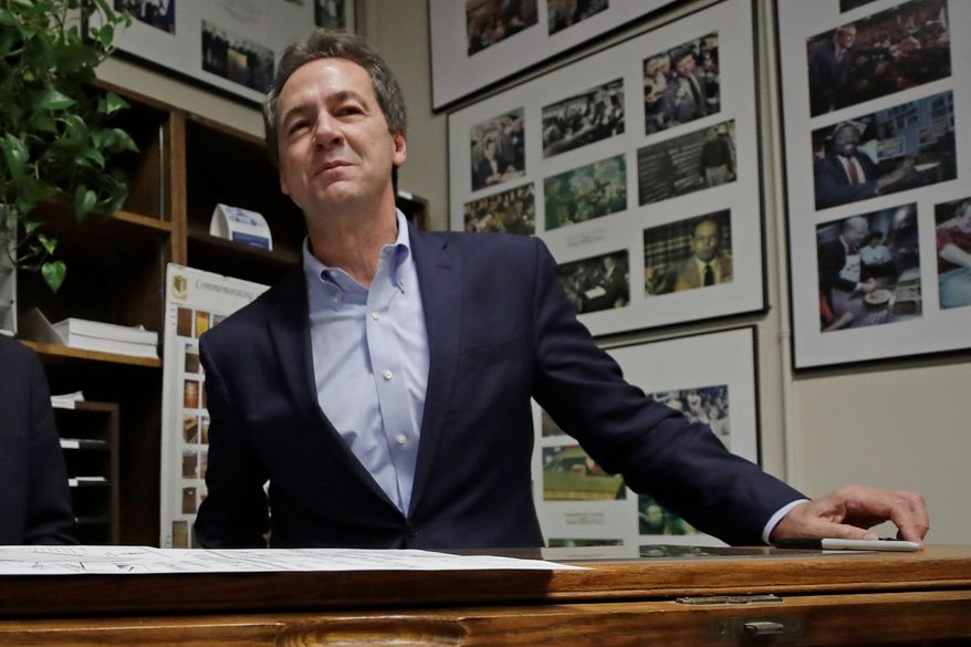 Montana Gov. Steve Bullock hasn't even declared his candidacy for the Senate race, but he's already the subject of an attack ad from a GOP-aligned super PAC. (Associated Press)