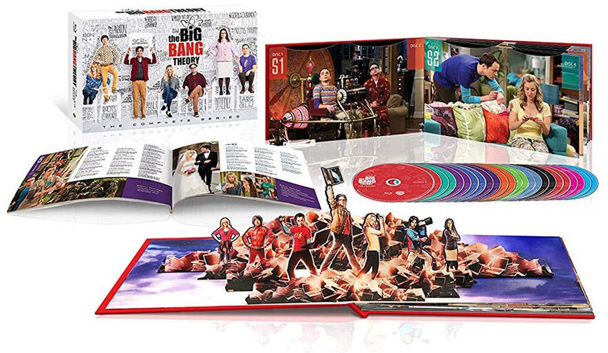 """Gift ideas for television show watchers include """"The Big Bang Theory: The Complete Series."""""""