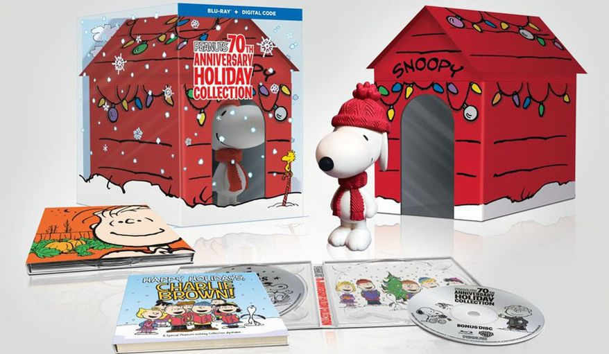 """Gift ideas for television show watchers include """"Peanuts: 70th Anniversary Holiday Collection."""""""