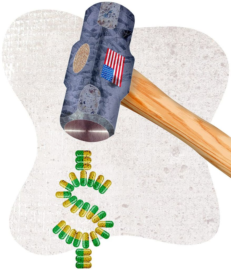 Wrong Approach to Price Control Illustration by Greg Groesch/The Washington Times