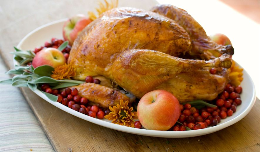 There can be peace at the Thanksgiving dinner table, as long as certain topics are avoided, according to new research. (Associated Press)
