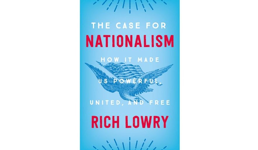 'The Case for Nationalism' (book jacket)