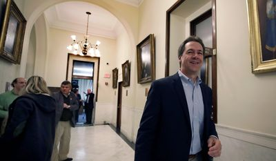 Then-Democratic presidential candidate Steve Bullock's proposal would tax corporations based on how many U.S.-based jobs that the company creates. (Associated Press)