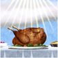 Illustration on gratitude at Thanksgiving by Alexander Hunter/The Washington Times