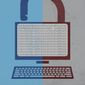 Illustration internet content policy by Linas Garsys/The Washington Times