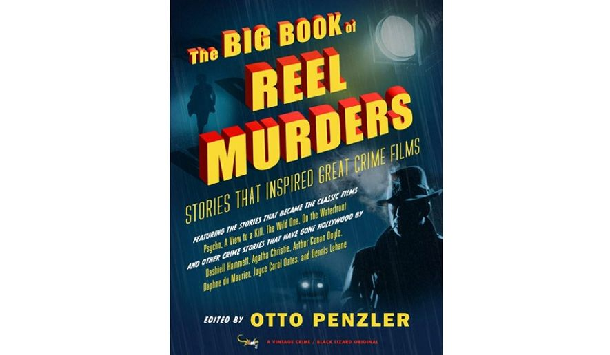 'The Big Book of Reel Murders' (book cover)