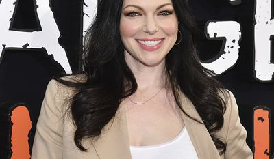 """Laura Prepon attends the final season premiere of Netflix's """"Orange Is the New Black"""" at Alice Tully Hall on Thursday, July 25, 2019, in New York. (Photo by Charles Sykes/Invision/AP)"""