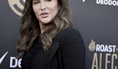 Caitlyn Jenner attends the Comedy Central roast of Alec Baldwin at the Saban Theatre on Saturday, Sept. 7, 2019, in Beverly Hills, Calif. (Photo by Richard Shotwell/Invision/AP)