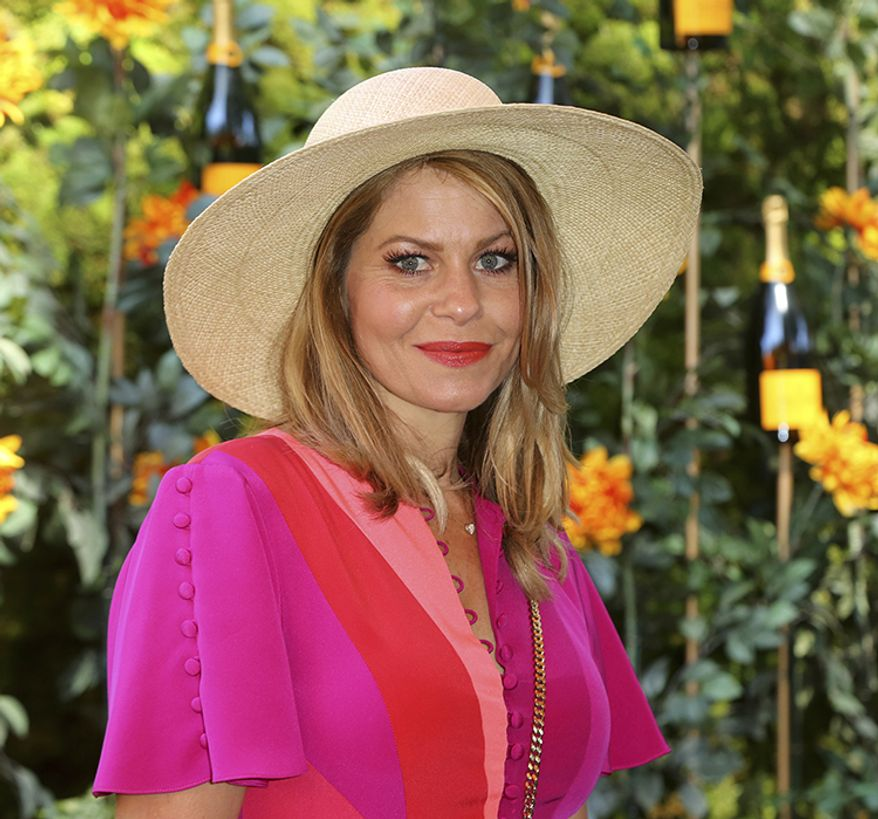Candace Cameron-Bure attends the 10th Annual Veuve Clicquot Polo Classic at Will Rogers State Historic Park on Saturday, Oct. 5, 2019, in Los Angeles, Calif. (Photo by Willy Sanjuan/Invision/AP)