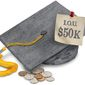Student Debt Illustration by Greg Groesch/The Washington Times