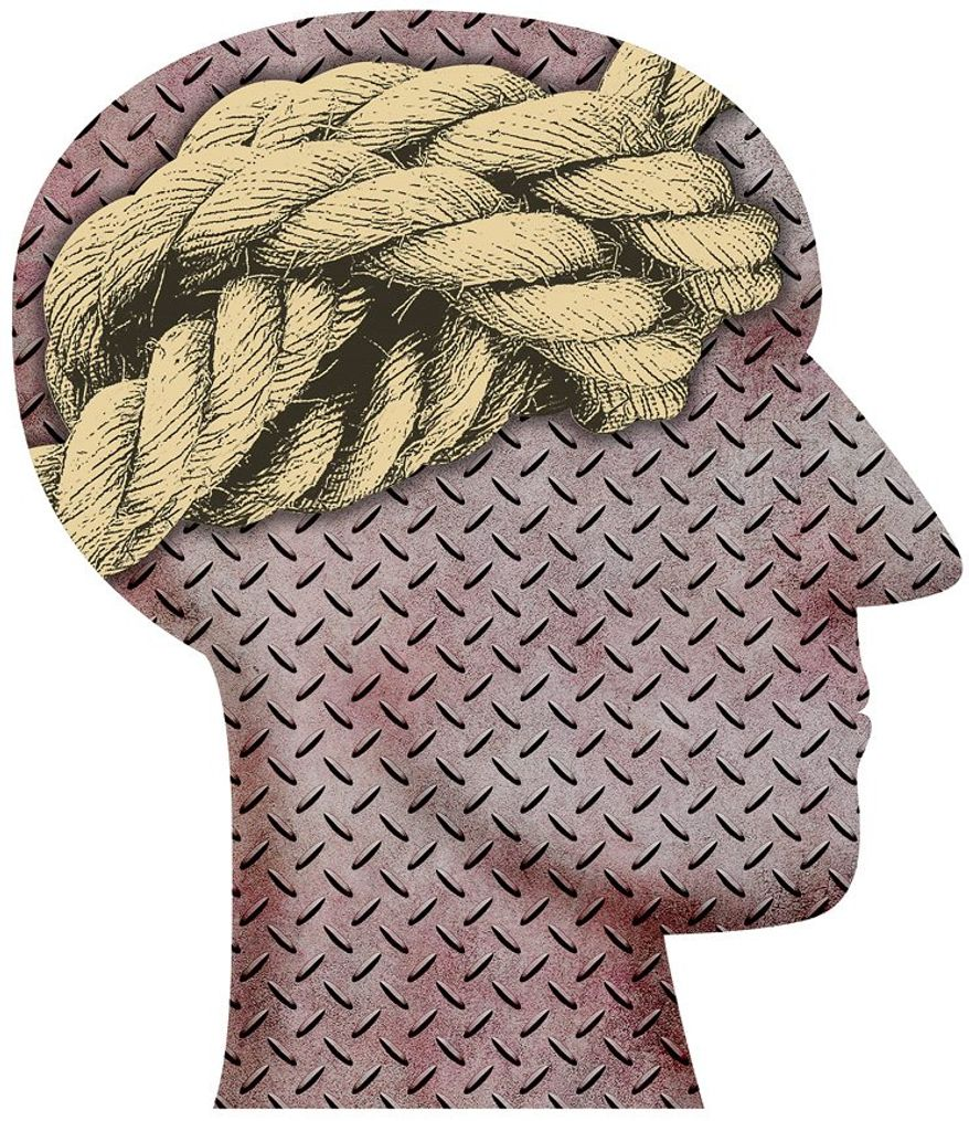 Head Knot Illustration by Greg Groesch/The Washington Times