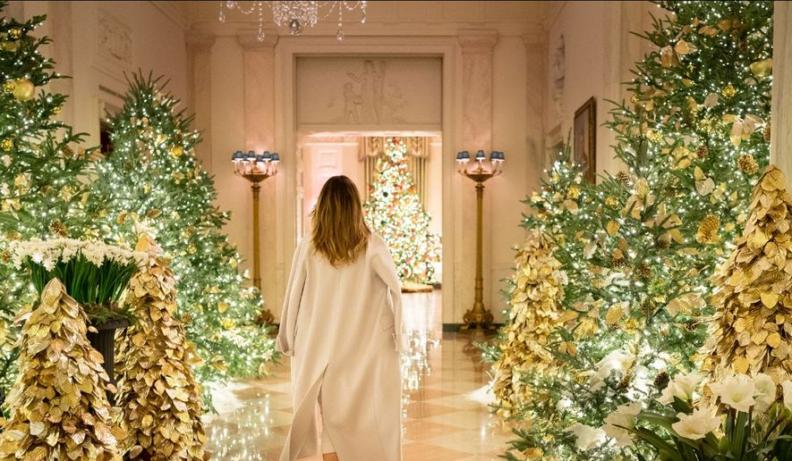 White House Christmas Decorations 2020 Melania Trump seeks Christmas decorators for the White House