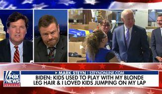 Author Mark Steyn talks about former Vice President Joseph R. Biden's 2020 campaign, Dec. 3, 2019. (Image: Fox News video screenshot)