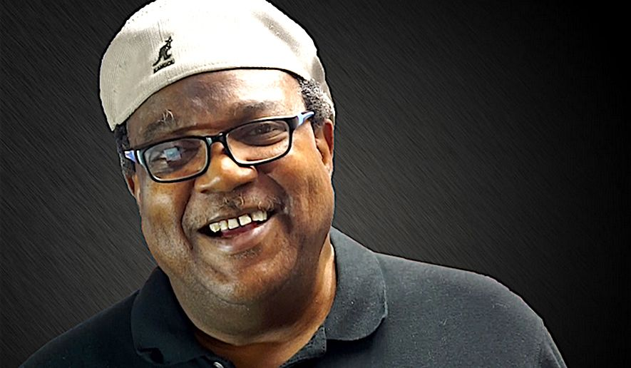 """""""Bo Snerdley"""" — whose real name is James Golden — is the well-known producer of Rush Limbaugh's daily talk radio show. We partner Autry Pruitt, he has founded a new political action committee to promote conservative values in the black community. (image courtesy of MAGA.BLACK)"""