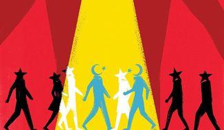 China minorities illustration by Linas Garsys