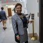 """They've been calling, but I am not leaning in any direction yet,"" Rep. Barbara Lee said about the presidential candidates. Ms. Lee is a member of the Congressional Black Caucus and her top pick, Sen. Kamala D. Harris, ended her campaign this week. (Associated Press)"