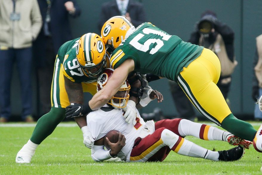 Redskins quarterback Dwayne Haskins earned the respect of his teammates after playing most of Sunday's loss to the Packers on an injured right ankle.