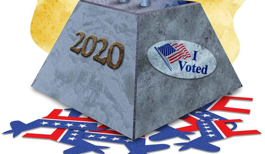 Democrats 2020 taxes illustration