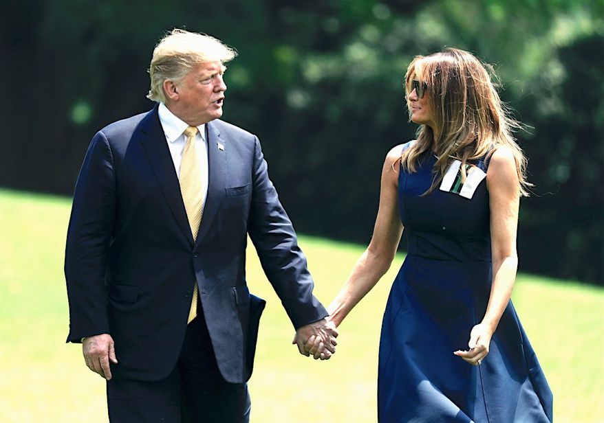 A new poll finds that President Trump actually has better favorability ratings than his Democratic rivals in the 2020 presidential race. (Associated Press)