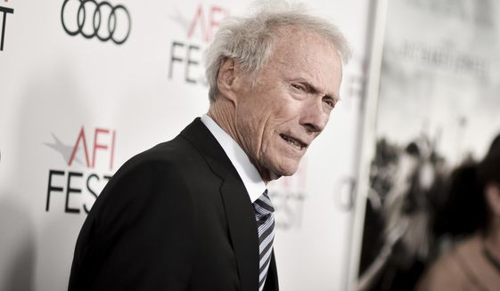 """Clint Eastwood attends 2019 AFI Fest - """"Richard Jewell"""" at the TCL Chinese Theatre on Wednesday, Nov. 20, 2019, in Los Angeles. (Photo by Richard Shotwell/Invision/AP)"""
