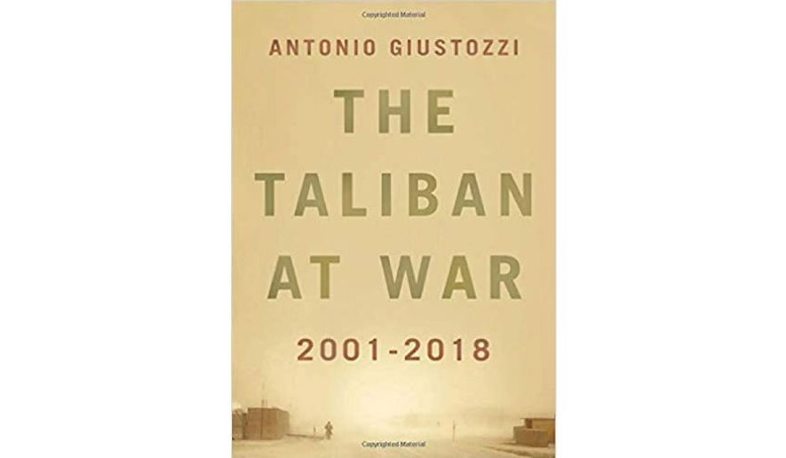 'The Taliban at War 2001-2018' (book jacket)