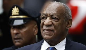 In this Sept. 24, 2018, file photo Bill Cosby arrives for his sentencing hearing at the Montgomery County Courthouse in Norristown, Pa. (AP Photo/Matt Slocum, File)